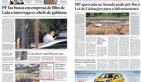 RDC Lava Jato: imprensa nacional critica aprovação da MP 678/2015