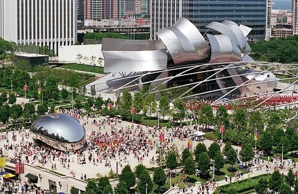 Resultado de imagem para parque millennium chicago