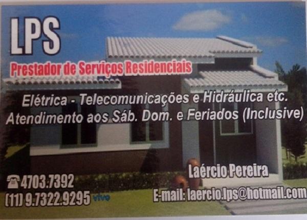 LPS-Prestador de Serviço Residencial